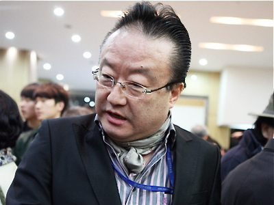 Yeong-Su Li, minister of political department at Asia Times (Jin-Tae Geum/The Epoch Times)
