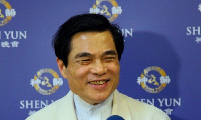Director of Sun Yat-Sen Memorial Hall Tseng Kun-Ti (Li Hsien-Jen/The Epoch Times)