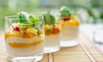 Yogurt and Fruit Salsa Cocktail