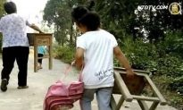 Students in Rural China Must Bring Own Desks to School
