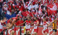 Sydney Swans Win AFL Grand Final as Essendon Bombers Win Goddard