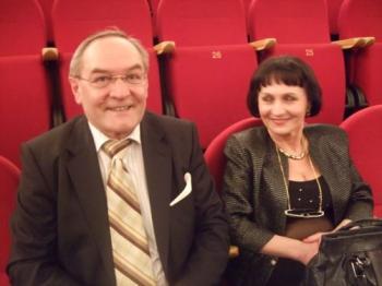 Mr. and Ms. Malolepsza. (Florian Godovits/The Epoch Times)