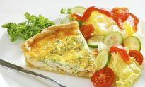Low-Carb Breakfast Quiche