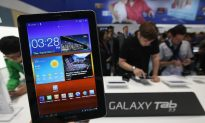 Samsung Wins UK Apple Ruling Over Galaxy Tablet