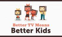 Better TV Means Better Kids, Says Education News