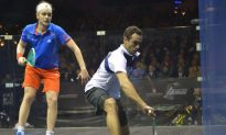 Ashour Overcomes Willstrop to Win HK Open Squash Championship