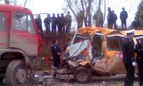 Overcrowded School Van Crashes in China, Killing 18 Kindergarteners