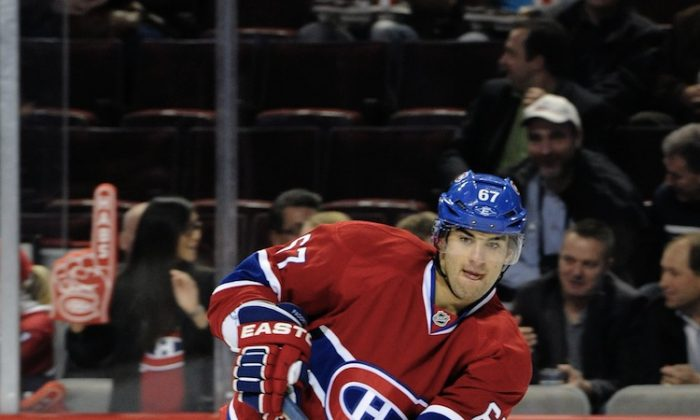 Montreal Canadiens forward Max Pacioretty was suspended for his 'illegal hit to the head' of Pittsburgh Penguins defenseman Kris Letang on Monday. The suspension by the NHL's Brendan Shanahan caused an outcry because of an apparent lack of consistency in suspensions for such hits. (Richard Wolowicz/Getty Images)