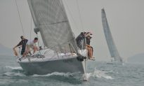 Gentle Sailing Conditions in Hong Kong For The Tomes Cup