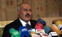 Yemen President Saleh Arrives in New York