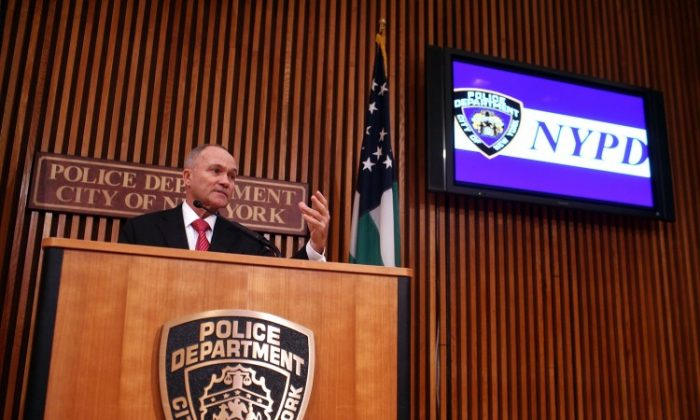 NYPD Police Commissioner Ray Kelly Speaks To The Media on Jan. 27. (Spencer Platt/Getty Images)