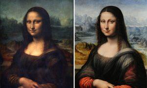 The Two Faces of Leonardo Da Vinci's 'Mona Lisa'