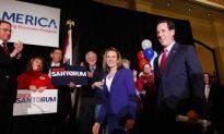Santorum Sweeps Three-State Victory