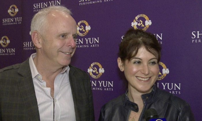 Jessica Shani attended Shen Yun Performing Arts with Mr. Touhey. (Courtesy of NTD Television)