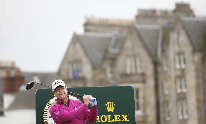 Tom Watson has won the Open Championship five times. (AP Photo/Peter Morrison)