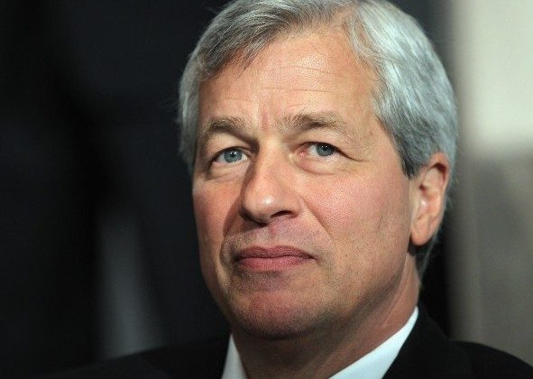 JPMorgan Chase & Co. Chairman and CEO Jamie Dimon waits before speaking at a business school conference in New York City on May 3. Last week, Dimon disclosed a $2 billion trading loss at the bank that rattled markets. (Mario Tama/Getty Images)