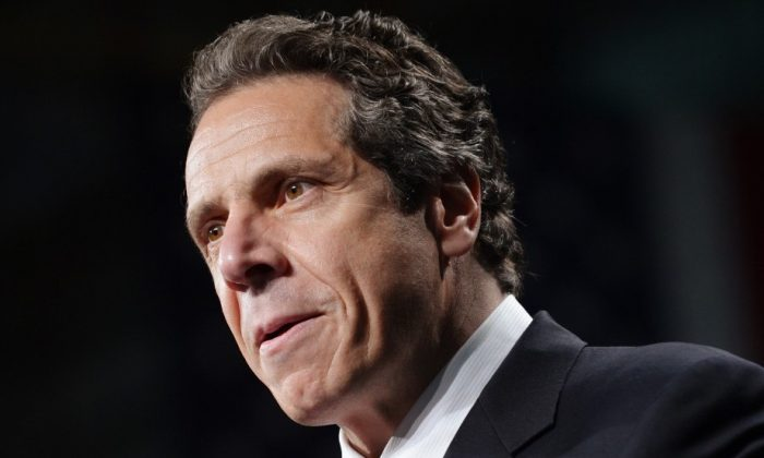 New York Gov. Andrew Cuomo in a file photo May 2012 (MANDEL NGAN/AFP/GettyImages)