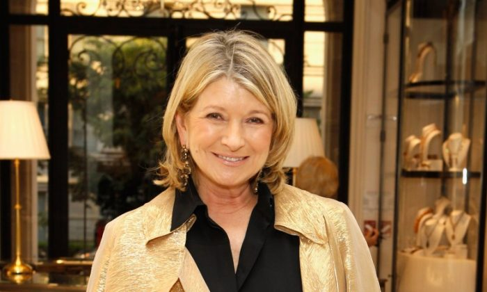 Martha Stewart seen here at the Ralph Lauren Women's Boutique on May 22 in New York. (Mark Von Holden/Getty Images)