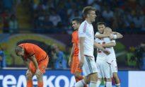 Denmark Stuns Netherlands at Euro 2012