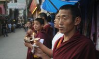Tibetan Monk Beaten Severely for Solitary Protest