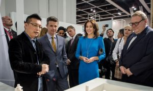 Prince Frederik & Princess Mary of Denmark Visited Business of Design Week in Hong Kong