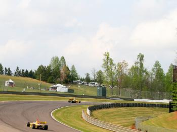 Hills, corners and trees: the defining features of Barber Motorsports Park. (James Fish/The Epoch Times)