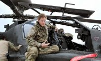 Prince Harry Said He Fired on Insurgents in Afghanistan