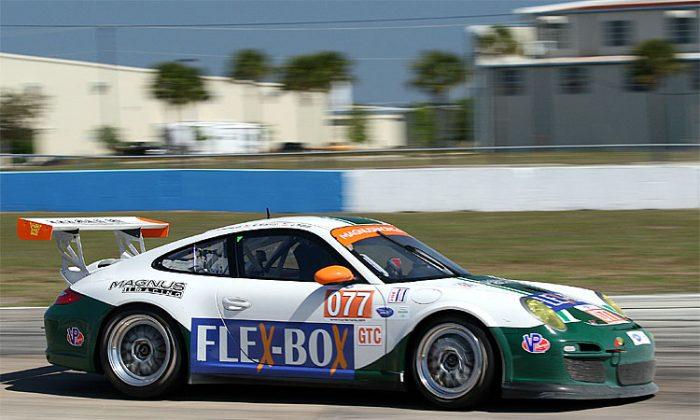 Flex-Box first partnered with Magnus Racing at the 2011 Sebring 12 Hours. (James Fish/The Epoch Times)