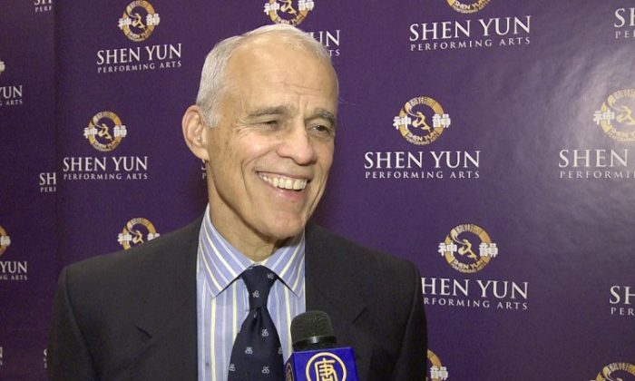 Bill Needham, an investment banker and independent director of Golden Hope Mines Limited, enjoyed Shen Yun Performing Arts at Lincoln Center on Saturday. (Courtesy of NTD Television)