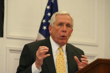 Congressman Frank Wolf (R-VA) (Gary Feuerberg/Epoch Times)