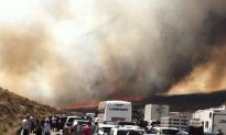 Rains Calm California Wildfire That Engulfed Busy Freeway, Sends People Running for Their Lives