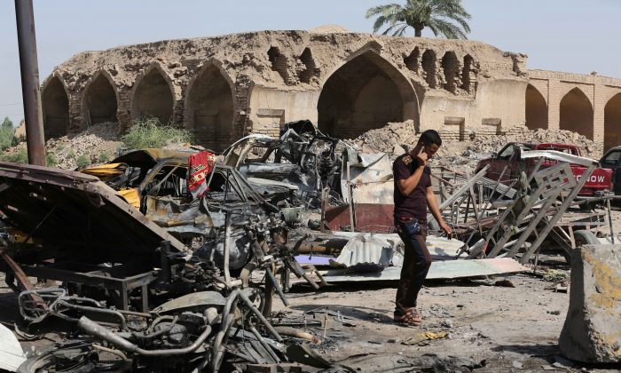 The arrests follow a deadly suicide bomb attack Friday in Iraq that killed 100.