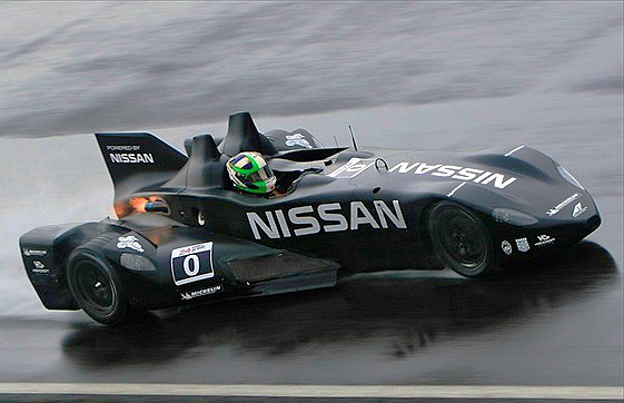 The revolutionary DeltaWing lapped Snetterton as fast as cars with twice the engine capacity. (Highcroftracing.com)