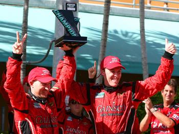Jon Fogarty and Alex Gurney won the 2009 Grand Am Daytona Prototype championship. (James Fish/The Epoch Times)