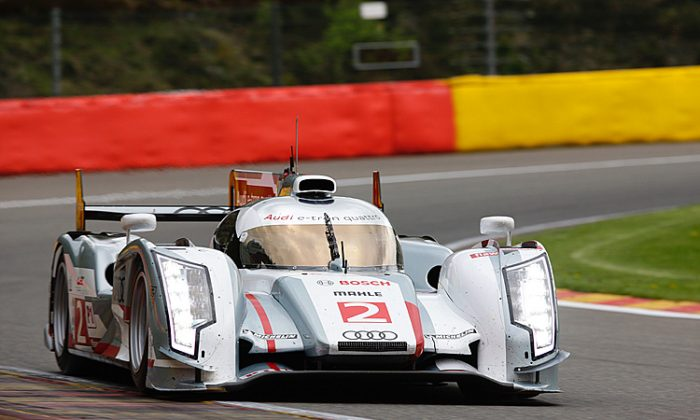 Marcel Fässler qualified the #1 e-tron Quattro third. (Audi Motorsports)