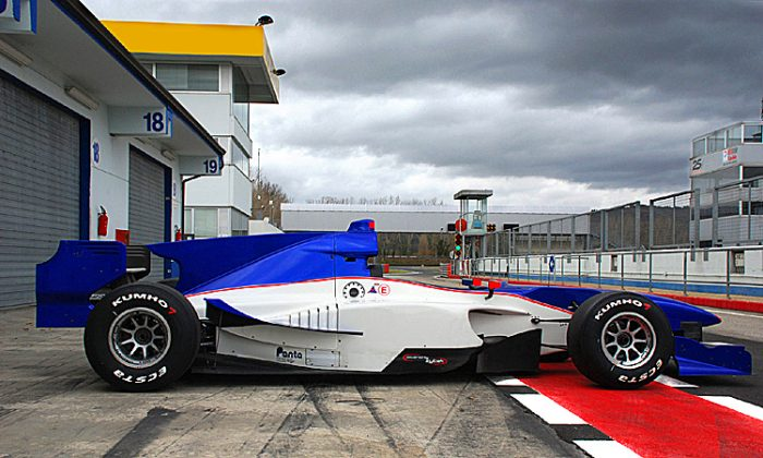 All Auto GP Lola-Zyteks will now be shod with racing rubber from Kumho Tyres. (Kumho Tyres)