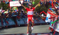 Rodriguez Rockets Past Contador to Win Vuelta Stage 14