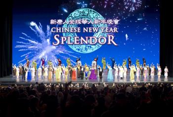 The evening performance of Shen Yun closed to standing ovations at Radio City Music Hall on Feb. 20. (Dai Bing/The Epoch Times)
