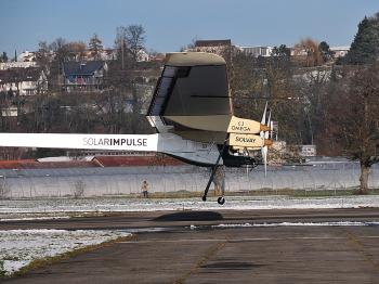 The Solar Impulse, the world's first solar-powered airplane, gets airborne on its maiden flight. (solarimpulse.com)