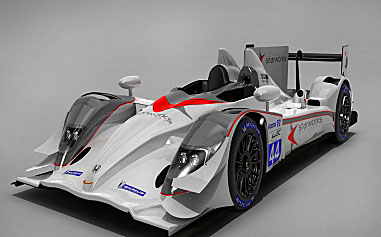 The HPD ARX-03b is the car of choice for many top teams; Starworks has chosen its ride well. (starworksmotorsport.com)