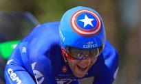 David Zabriskie Wins Tour of California Time Trial, Leader's Jersey