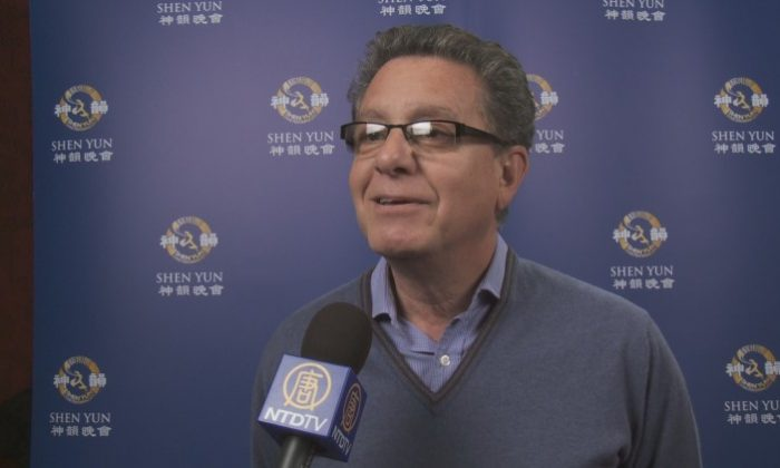 Larbi Rimiki, Press and Culture Attaché of the Morrocan Embassy after seeing Shen Yun at London Coliseum. (Courtesy of NTD Television)