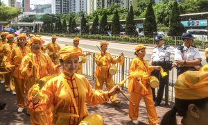 Falun Gong Practitioners in Hong Kong Mark 16 Years of Persecution