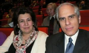 Greek Ambassador and His Wife: 'Highly superior art, we are very impressed'