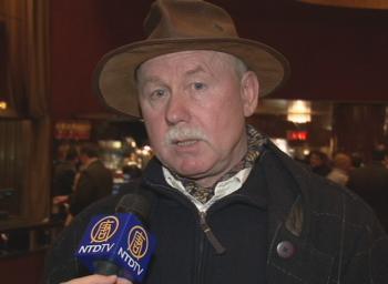 Mr. Tsar said he was impressed with Shen Yun's performance at Radio City Music Hall. (NTDTV)
