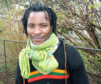 Lee Elias Tembo, 26, Social Worker and Facilitator.