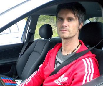 Christer Kallner, 42, Artist.