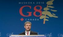 G8 Here to Stay, Says Harper