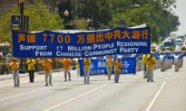 Grand March Near White House by Practitioners of Falun Gong