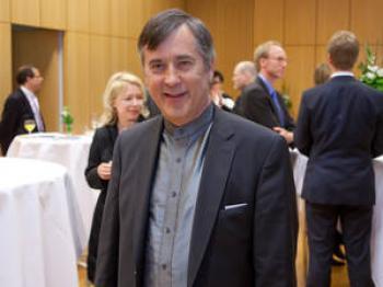 Bernd Olaf Fiebrandt enjoyed the Shen Yun performance. (Jason Wang/The Epoch Times)